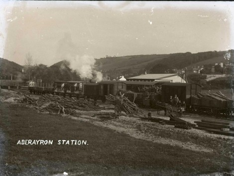 Aberaeron train station 1911